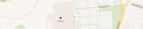 Karte IKEA Hafnarfjordur