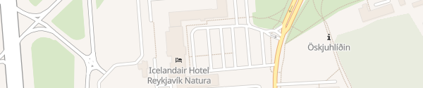 Karte Icelandair Hotel Reykjavik Natura Reykjavík