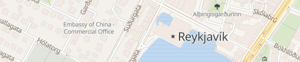Karte Ráðhús Reykjavík