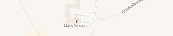 Karte Northern Light Inn Grindavik