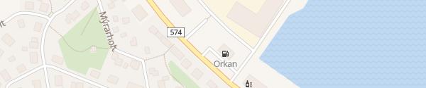 Karte Orkan Tankstelle Ólafsvík