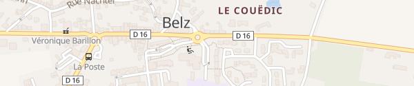 Karte Mairie Belz