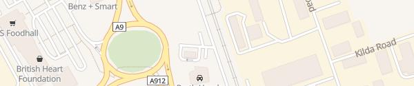 Karte IONITY Perth