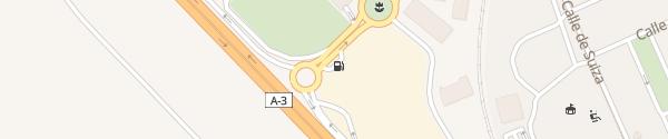 Karte Avia Rivas-Vaciamadrid