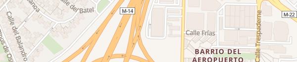 Karte Hilton Madrid Airport Madrid
