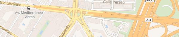 Karte Hotel Claridge Madrid