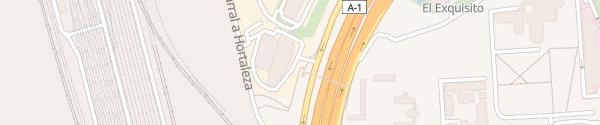 Karte Porsche Madrid Centro Norte Madrid