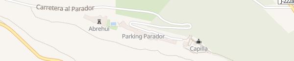 Karte Parador de Jaén Jaen