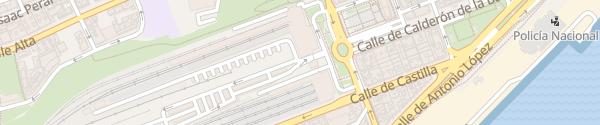 Karte Parking Saba Plaza de las Estaciones Santander