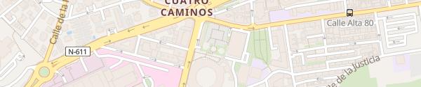 Karte Empark Aparcamientos y Servicios Santander