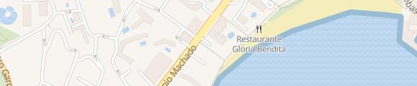 Karte Hotel Riviera Benalmádena