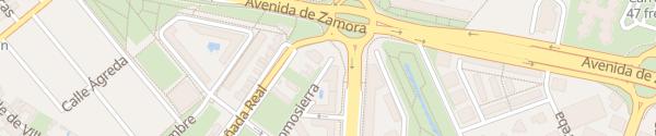 Karte Hotel Vincci Frontaura Valladolid