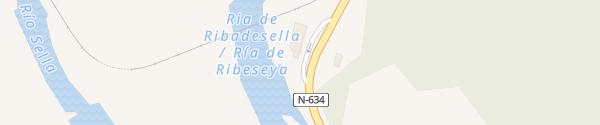 Karte Restaurante La Rivera Lloviu
