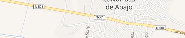 Karte Repsol Tankstelle Calvarrasa de Abajo