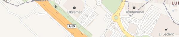 Karte Bricomart Salamanca