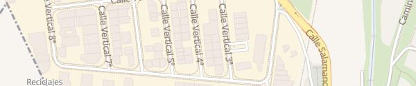 Karte Nacex - im Industriegebiet Carbajosa de la Sagrada