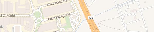 Karte Tankstelle AVIA Benavente