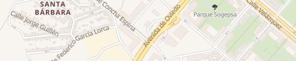 Karte Repsol Pumarín Gijón