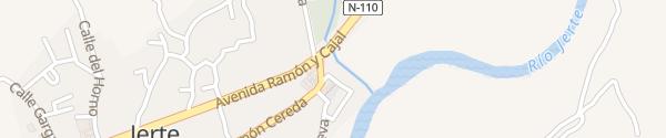 Karte Hospedería Valle Del Jerte Jerte