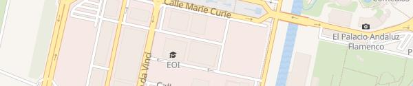 Karte Aparcamiento Cartuja Sevilla