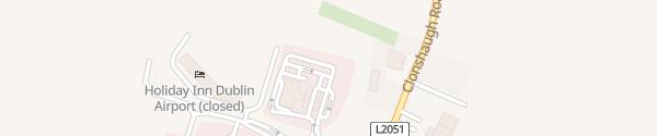 Karte Topaz Service Station Cloghran