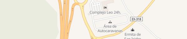 Karte Tankstelle Cepsa Leo Monesterio