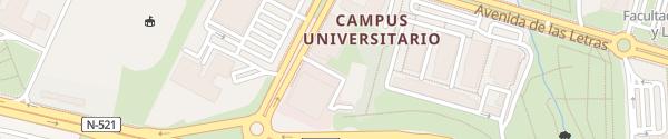 Karte PCTEX Cáceres