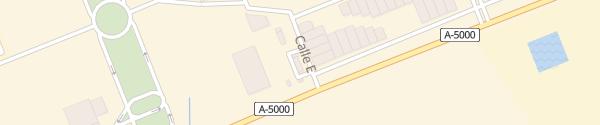 Karte AVIA E.S. Adernor Tartessos Huelva
