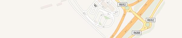 Karte IONITY Topaz Service Station Waller's-Lot