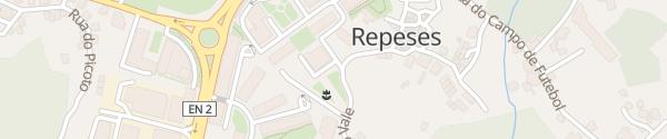 Karte Rua do Vale Viseu