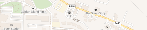 Karte Circle K / Topaz Service Station Athlone