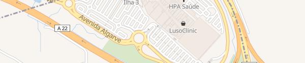 Karte Supercharger Mar Shopping Algarve Almancil
