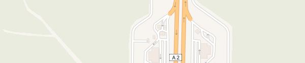 Karte Rastätte Ajoustrel West Ajoustrel