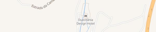 Karte Duecitania Design Hotel Penela