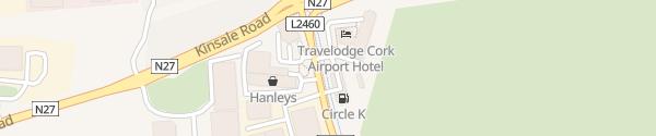 Karte Topaz Tankstelle Cork