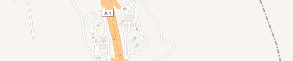 Karte Área de Serviço da Mealhada Murtede