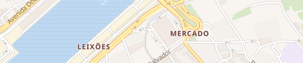 Karte Rua Álvaro Castelões Matosinhos
