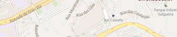 Karte Centro Comercial Gran Via de Vigo Vigo