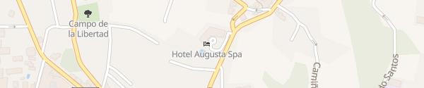 Karte Augusta Spa Resort Sanxenxo