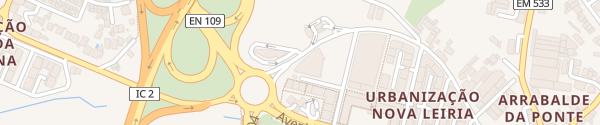 Karte Hotel Tryp Leiria Leiria