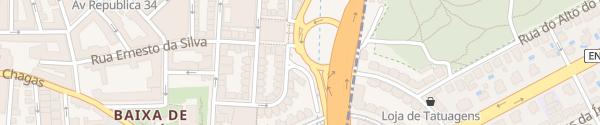 Karte Praceta Manuel Martins Algés