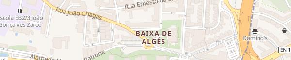 Karte Rua Parque Anjos Algés