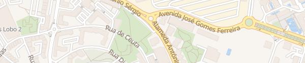 Karte Alameda António Sérgio Linda-a-Velha