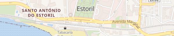 Karte Jardim do Estoril Estoril