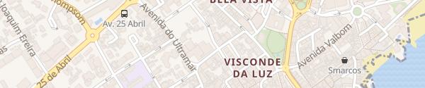 Karte Rua Dom Francisco de Avilez Cascais
