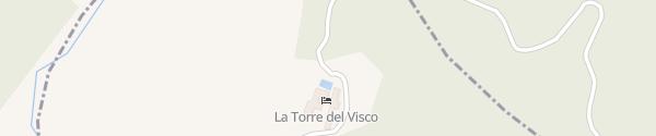 Karte La Torre del Visco Fuentespalda
