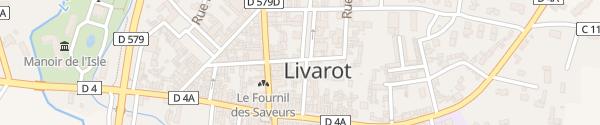 Karte Place Xavier de Maistre Livarot