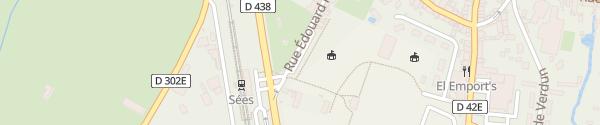 Karte Rue Edouard Paysant Sées