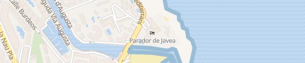 Karte Parador De Jávea Jávea Alicante