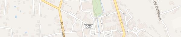 Karte Place André Pradeau Ribérac